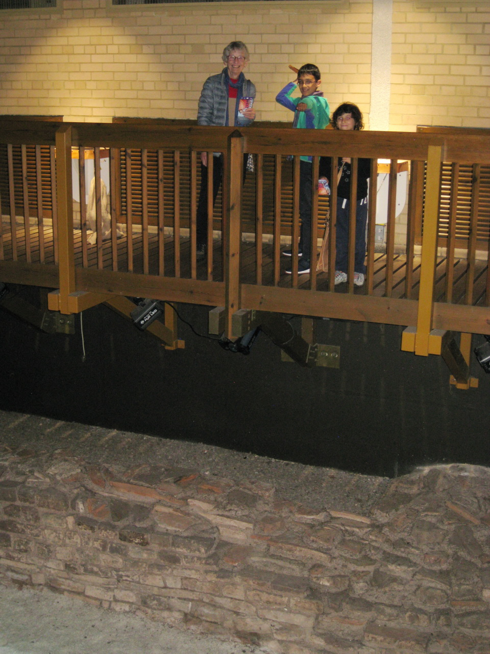 Roman baths,Caerleion